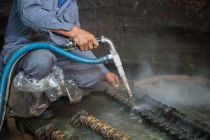 Tips for safe abrasive blasting